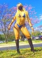 MC Bandida é funkeira de sucesso no DF e tentou ser deputada