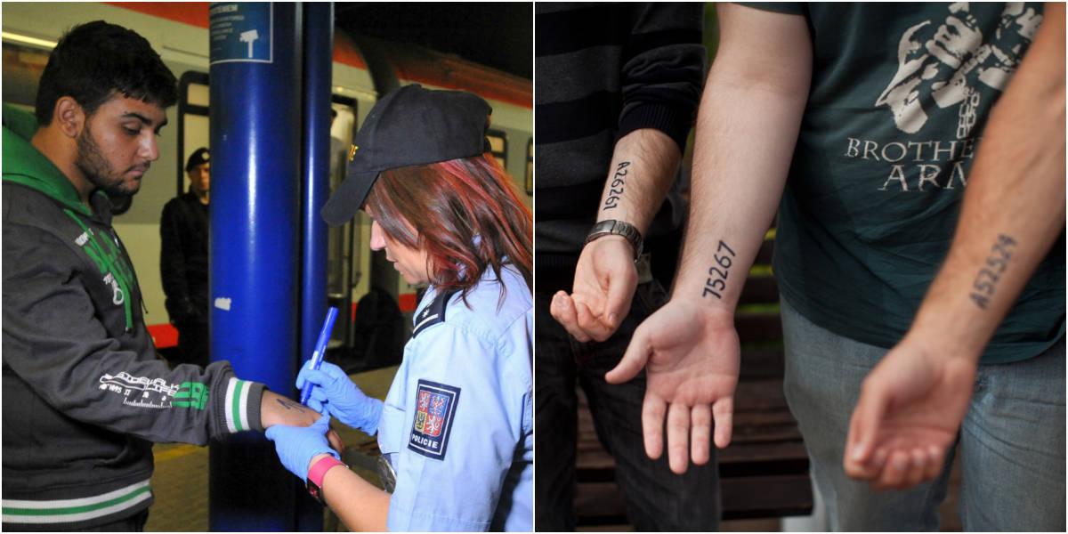 Em medida que lembra o holocausto, polícia tcheca começa a marcar imigrantes com números