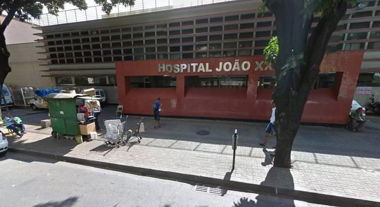 Criança não resistiu aos ferimentos provocados pelo pai e morreu no Hospital
