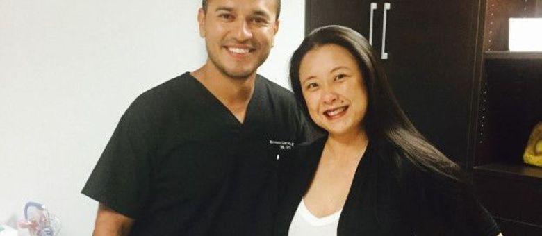 Irene Kim foi a Miami para comprar enxoval e acabou dando à luz nos Estados Unidos