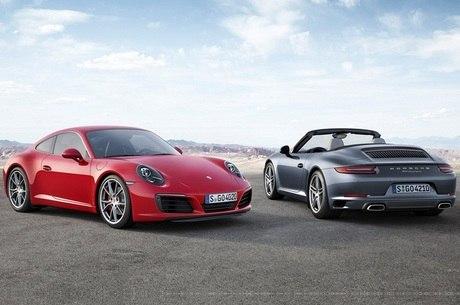 Neymar tem uma Porsche Panamera; acima são 911 e Carrera 2016