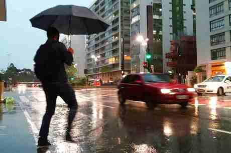 Chuva de terça foi maior em um dia de inverno nos últimos 20 anos