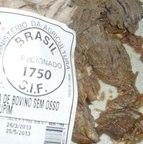 Uma peça de carne tinha vermes como recheio