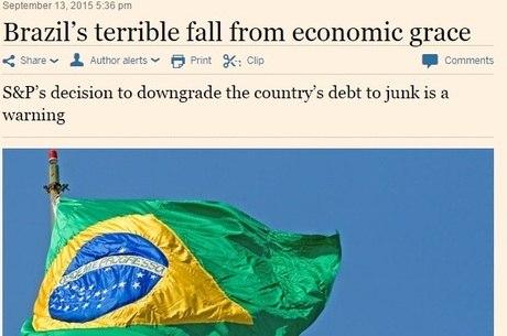 Instabilidade política é pior que econômica segundo jornal