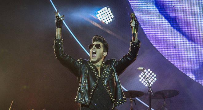 Desde que Lambert chegou, Queen já se apresentou para 4 milhões de pessoas