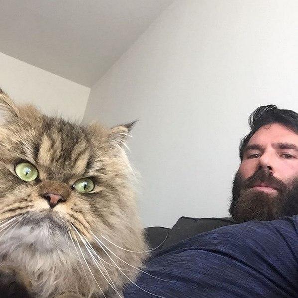 a21e4043a ... Dan Bilzerian não escondeu que sua verdadeira paixão é seu gato