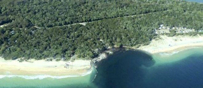 Esta foi a segunda vez que o fenômeno ocorreu na mesma praia da Austrália