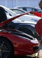 Ferrari 458 Itália - Arturo Vidal