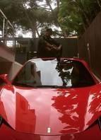 Ferrari 458 Spider - Neymar
