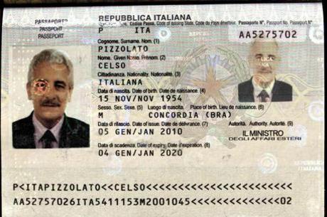 Em novembro de 2013, Pizzolato fugiu para a Itália com o passaporte falso de um irmão morto