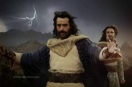 Guilherme Winter é Moisés na novela Os Dez Mandamentos