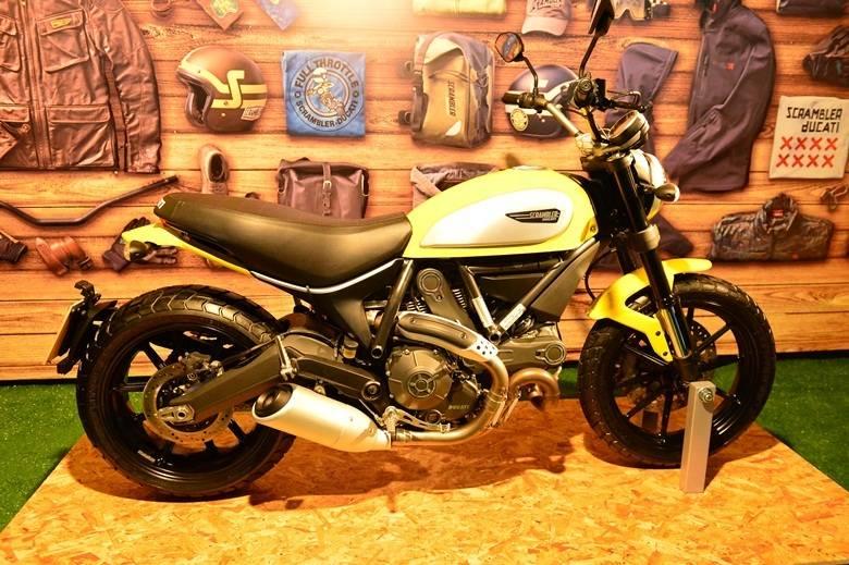 Ducati convoca recall da moto Scrambler no Brasil