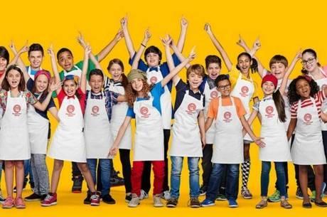 As crianças participantes do Masterchef Júnior
