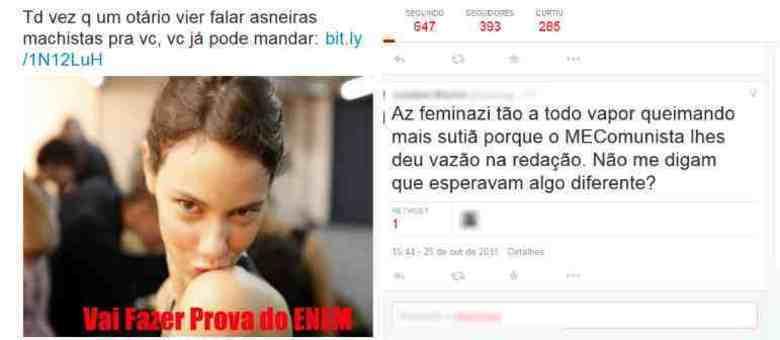 Escolha do tema foi alvo de discussões na internet; grupos feministas e o Mnistério da Educação foram criticados