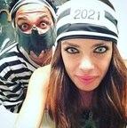 Daniel Alves, do Barcelona, e a namorada Joana Sanz