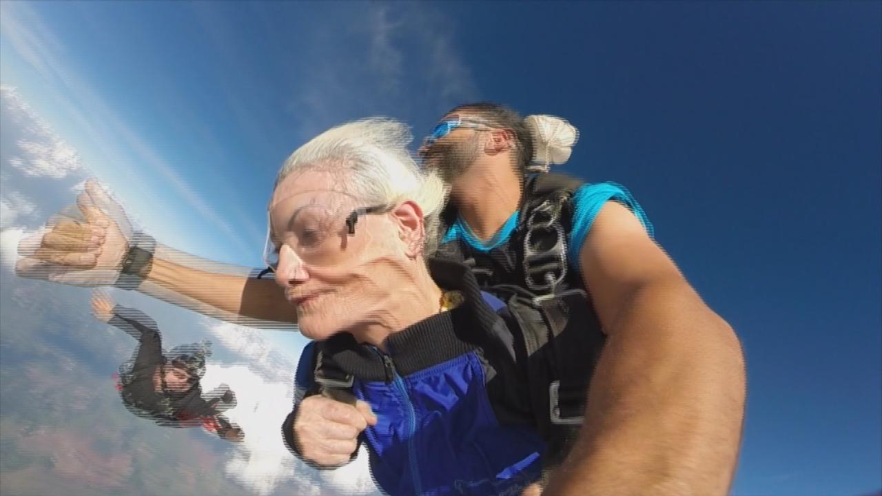 Você Encara Um Salto De Paraquedas Vovó De 106 Anos Salta