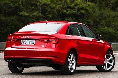 Aceleramos o Audi A3 sedan nacional