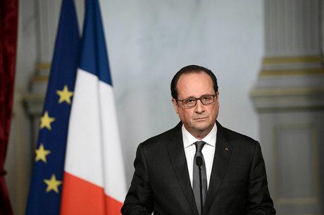 François Hollande se dirigiu aos 196 delegados presentes na COP21