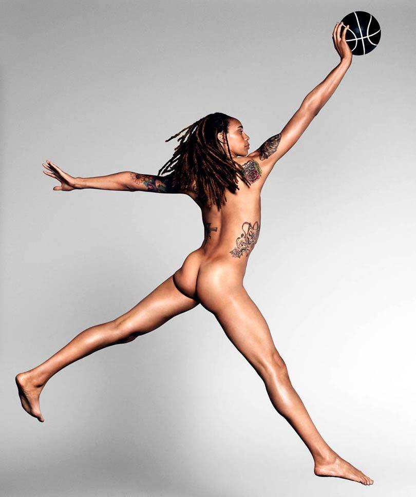 Como é o corpo de grandes atletas sem roupas - Geekness