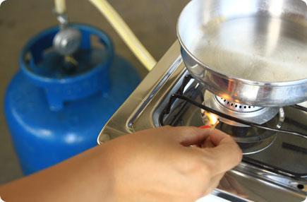 Resultado de imagem para gas cozinha