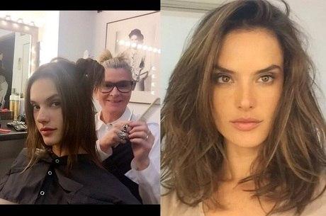 O novo corte de cabelo da Angel