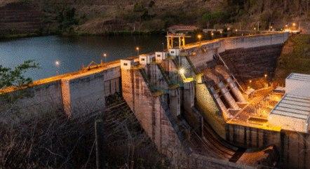 Usina de Candonga fica em Rio Doce (MG)