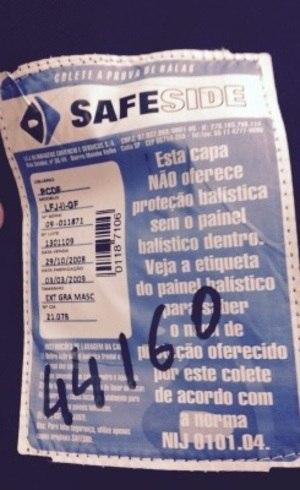 Sindicato denuncia que coletes à prova de balas da PCDF estão vencidos