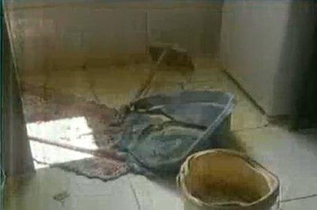 Bombeiros informaram que a vítima sofreu queimaduras de 2º e 3º graus