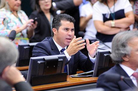 Marcos Rogério foi escolhido a partir de uma lista tríplice junatmente com os deputados Léo de Brito e Sérgio Brito