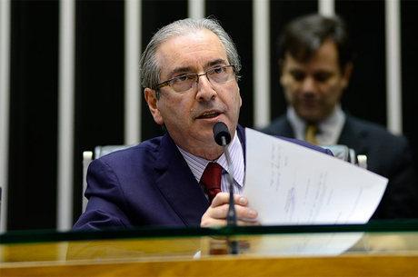 """No pedido, Janot sustenta que Eduardo Cunha (foto) faz parte de um """"grupo criminoso"""""""