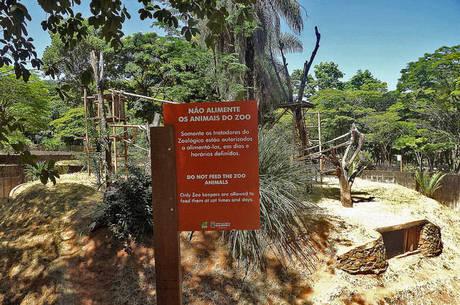 Jardim Zoológico estava fechado há sete meses