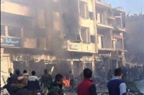 Síria é alvo de ataques