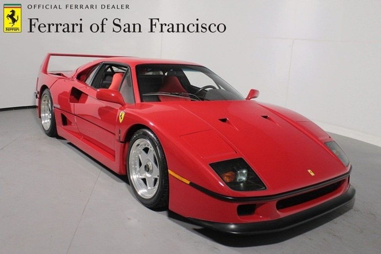 ferrari f40 est venda no ebay por quase r 7 mi fotos r7 carros. Black Bedroom Furniture Sets. Home Design Ideas