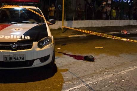 Tentativa de assalto foi presenciada por um guarda, que reagiu