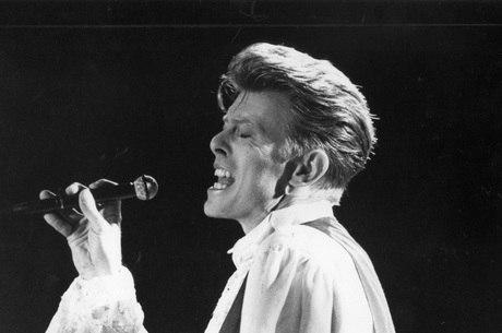 David Bowie na casa de shows Olympia, em São Paulo