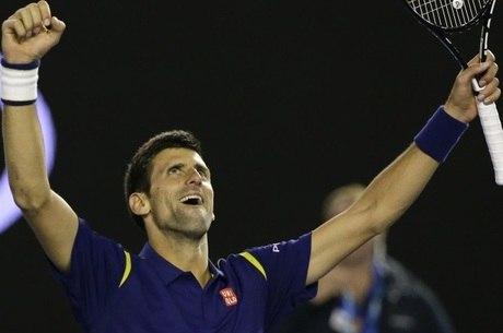 Novak Djokovic foi o campeão do Aberto da Austrália