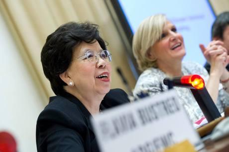 Margareth Chan destacou também o papel da mídia em divulgar informações para ajudar no combate ap surto