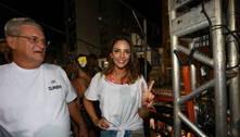 Carol Celico curte o trio de Claudia Leitte em Salvador