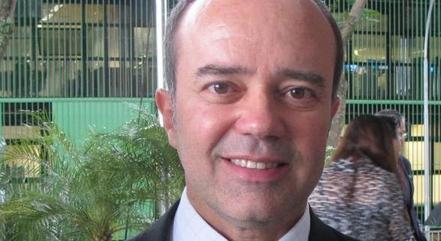 Na imagem, ex-juiz Roberto Caldas