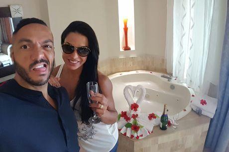 Gracyanne Barbosa e Belo passaram por uma situação curiosa