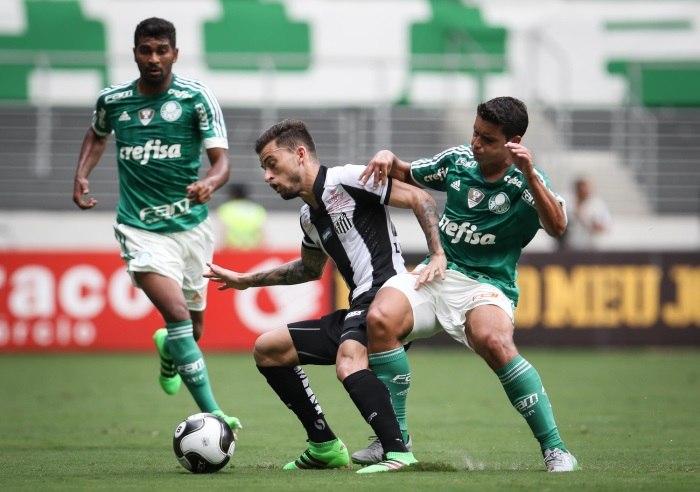 Palmeiras e Santos fazem clássico morno e ficam no empate