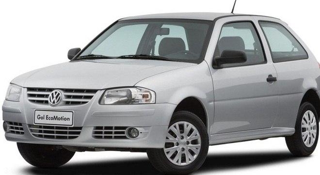 Volkswagen Gol foi o carro mais vendido de outubro.