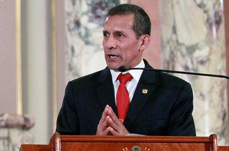 Humala, atual presidente do Peru, é suspeito de receber propina