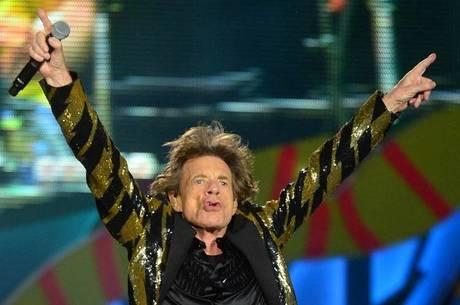 Mick Jagger é o líder dos Rolling Stones