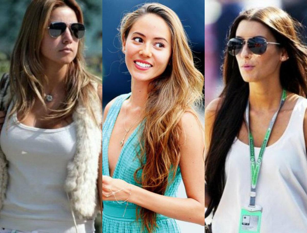 Mulheres dos pilotos da Fórmula 1 aceleram o coração dos