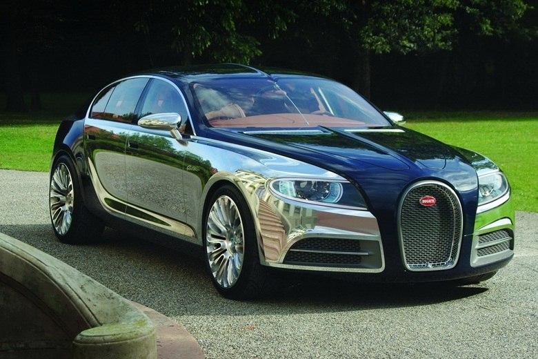 Chefe da Bugatti quer sedã esportivo