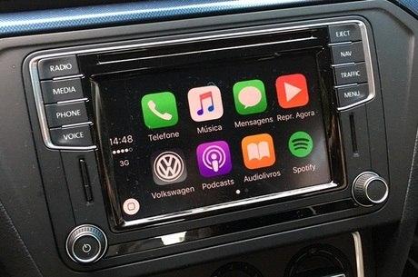 Central Discover Media tem Apple Carplay e Google Android Auto
