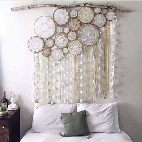 32bce1b62b Faça você mesmo  21 ideias de cabeceiras de cama para o quarto de casal -  Fotos - R7 R7 Meu Estilo