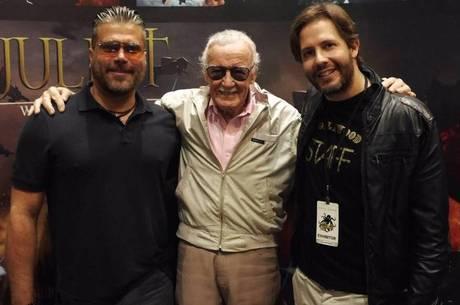 Frederico Lapenda, Stan Lee e Terry Dougas