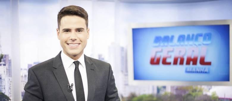 Conheça Luiz Bacci, o apresentador do Balanço Geral Manhã